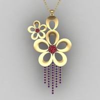 Floral Pendent