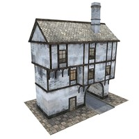 Medieval gate house