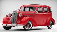 buick roadmaster 1936 3d obj