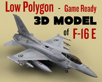 F-16E for game