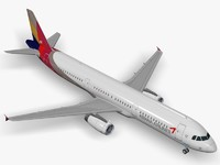 Airbus A321 Asiana Airlines