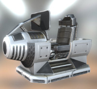 3d model of control basic version