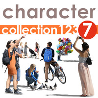 Character collection 123-7