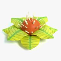 3ds alien plant