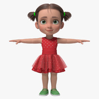 ma cartoon girl kid emma