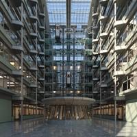 3d model corporate atrium office