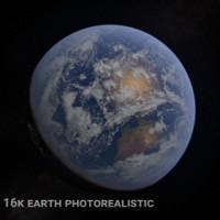 c4d planet earth 16k