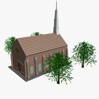 3d 3ds church religon