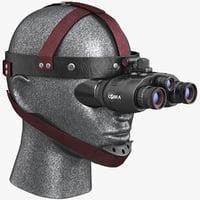 cobra optics goggles 3d model