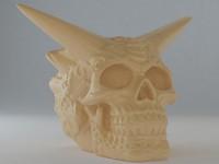 celtic skull 3d model