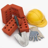 3d builder set 001 model