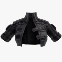 women jacket 3d model