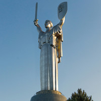 3d model motherland monumental sculpture