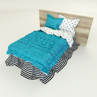 3d photorealistic bedding