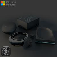 3d model microsoft hololens package
