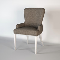3d model barbara barry chair