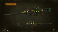 Sniper plasma gun