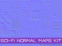 Sci-Fi Normal Maps Kit