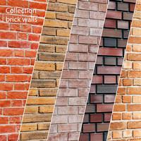 bricks set 3d model