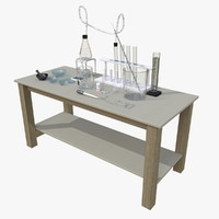 chemistry lab table dxf