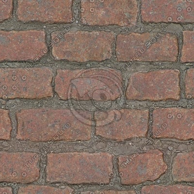 G328 red granite cobblestones texture SRF