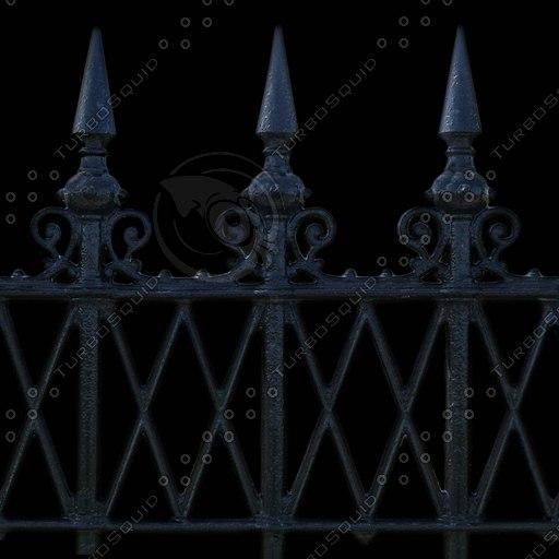 M021metal fence iron