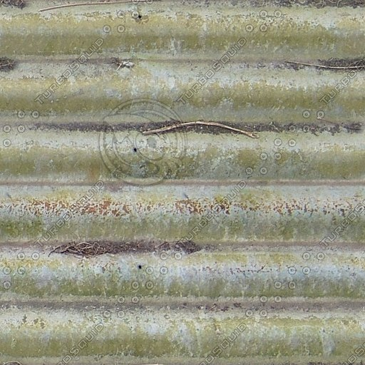 M170 metal roof corrugated roofing texture