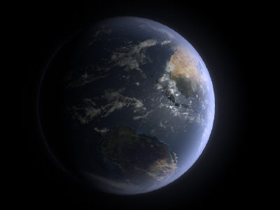 planet earth 3d ma - SIMILAR BUT NOT EARTH... by Monkey Wrench