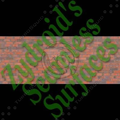 SRF Brick Wall Red Bricks Texture
