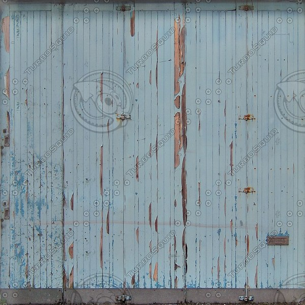 D160 warehouse garage door texture