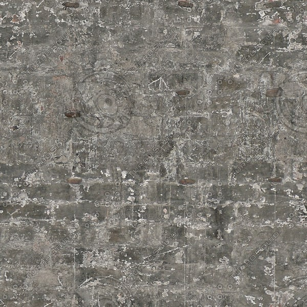 BRK108 gray brick wall texture