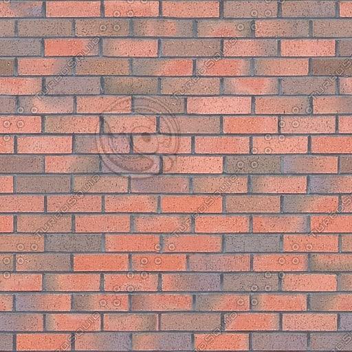 BRK001 red bricks brick wall texture