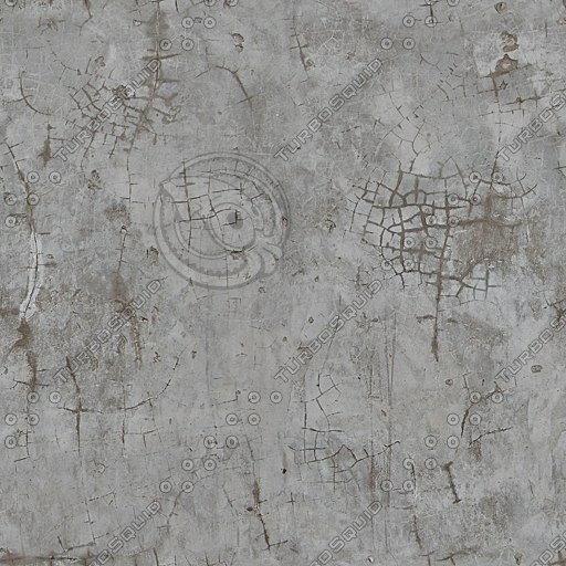 C084 concrete wall cracked
