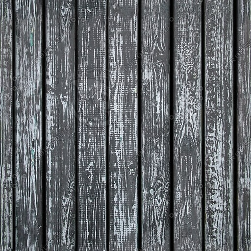 WD064 wooden wall fence