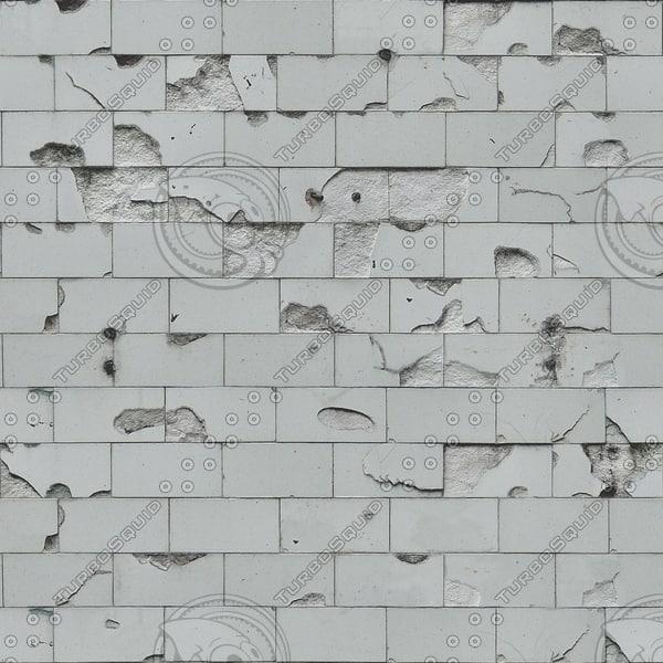 T041 broken white tiles texture