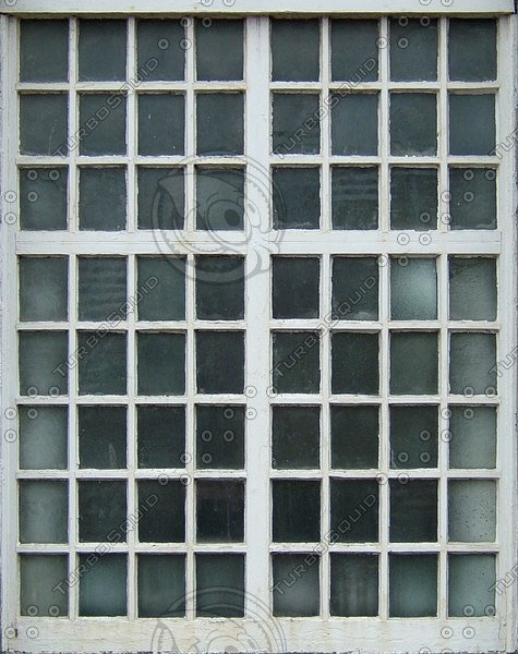 WND124 small panes window texture