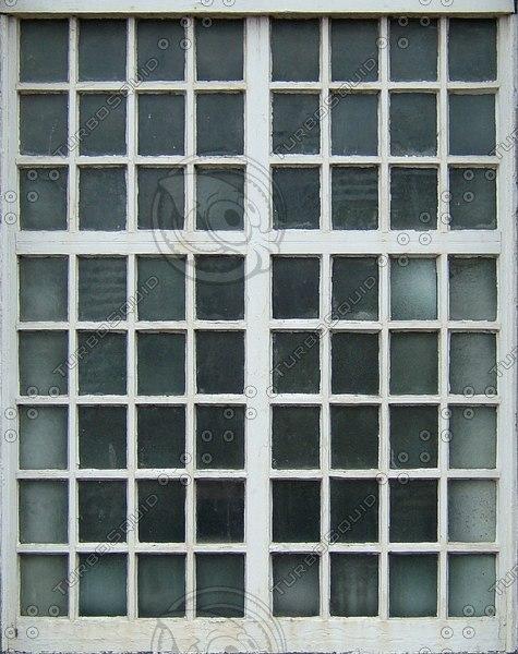 WND124 small panes window texture