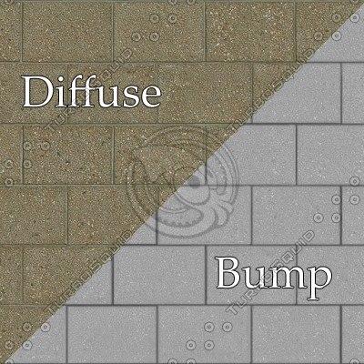 bl005 cinder blocks bumpmap SRF