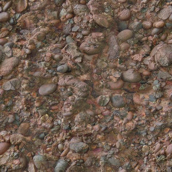 RS122b volcanic rock stones