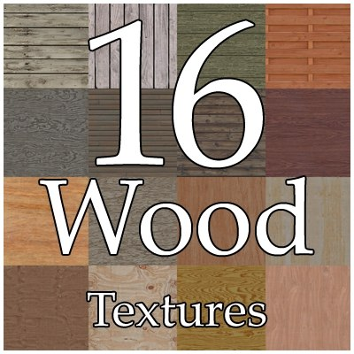 UPWD16 wood texture collection