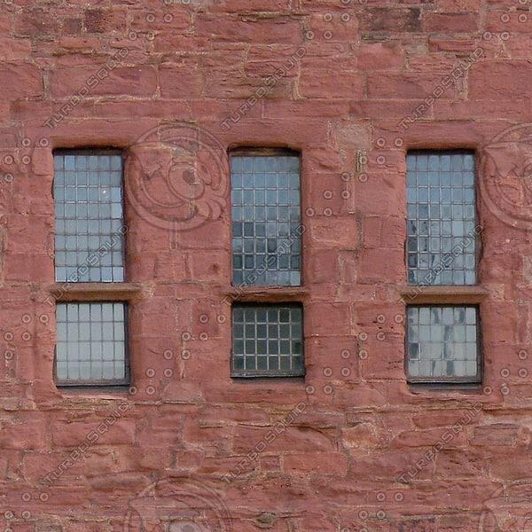 W103 sandstone wall facade