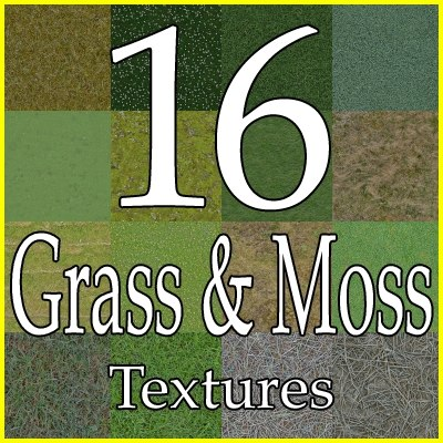 GCGM16 grass texture collection