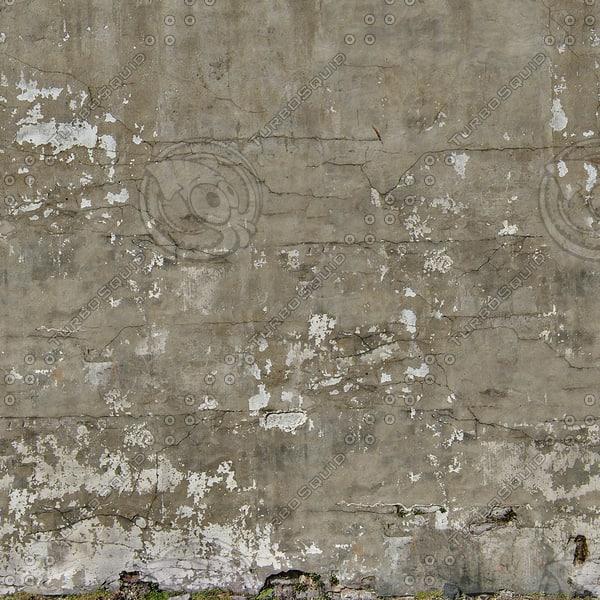 Wall281 concrete stucco damaged 1024