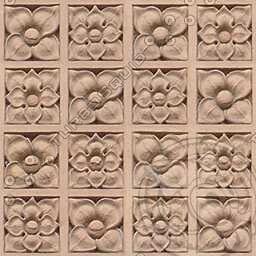 T018 ornate floral tiles texture