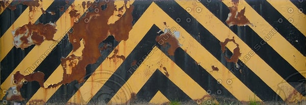 NT_M008 metal wall barrier texture