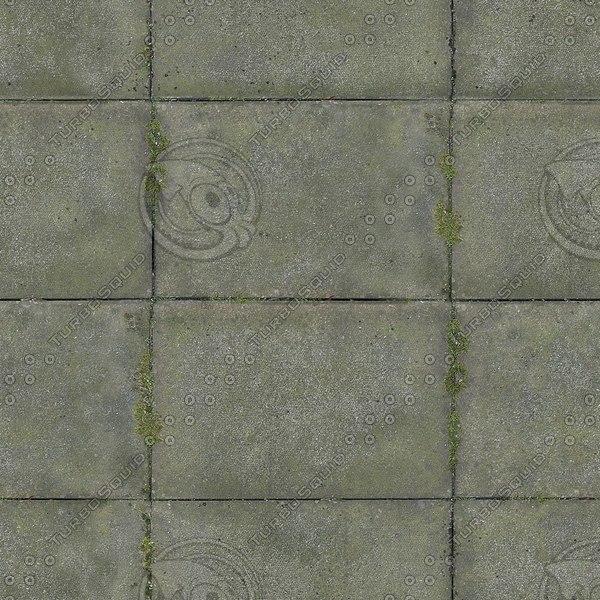 G107 concrete paving stones texture