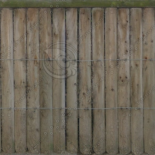 F024 wooden fence fencing texture
