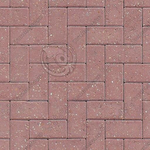 G073a brick sidewalk paving texture