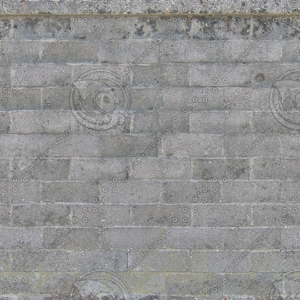 W409 concrete cinder blocks wall texture
