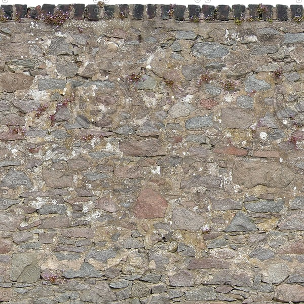 W348 old stone wall texture